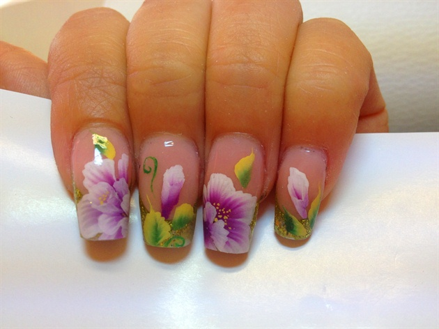 One Stroke Painting Biancas Nail Design